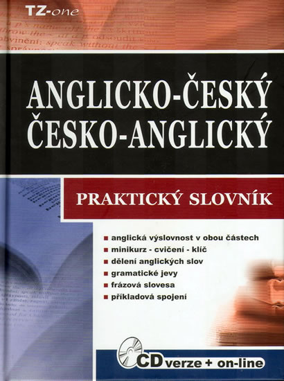 AČ-ČA praktický slovník - kniha + CD-ROM - Zahradníček,Zahradníčková a kolektiv - 13,5x17,5