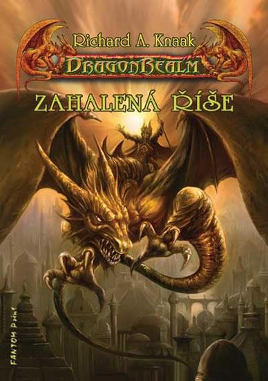 DragonRealm 5 - Zahalená říše - Knaak Richard A. - 14,5x20,5