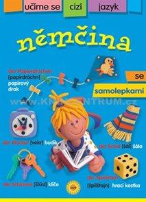 Němčina - učíme se cizí jazyk se samolepkami