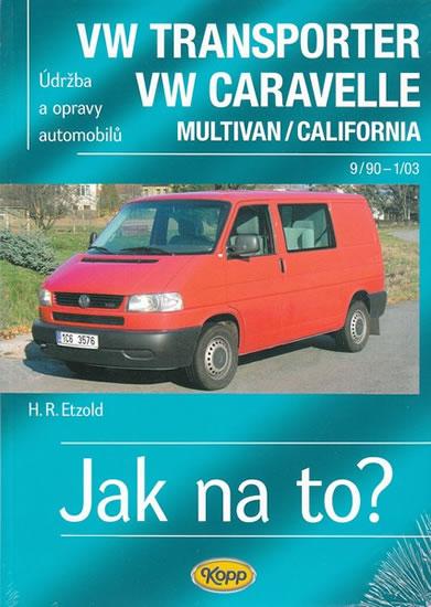 VW Transporter/Caravelle 9/90-1/03 - Jak na to? - 35. - Etzold Hans-Rudiger Dr. - 20,5x29
