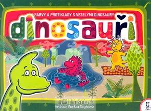 Dinosauři - Barvy a protiklady s veselým