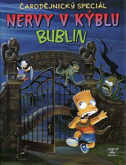 Simpsonovi Nervy v kýblu bublin - Groening Matt, Smith Jeff, Dorkin Evan, Allred Mike, Bagge Peter a další - 20,3x26,8