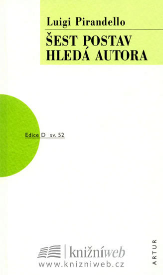 Šest postav hledá autora - Pirandello Luigi - 11,2x18,6
