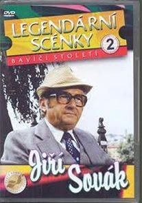 Legendární scénky 2 - Jiří Sovák - DVD