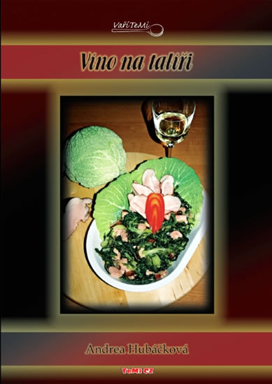 Víno na talíři - Hubáčková Andrea - 14,8x21