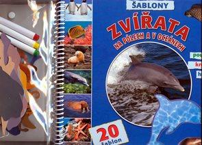 Zvířata na pólech a v oceánech - Šablony