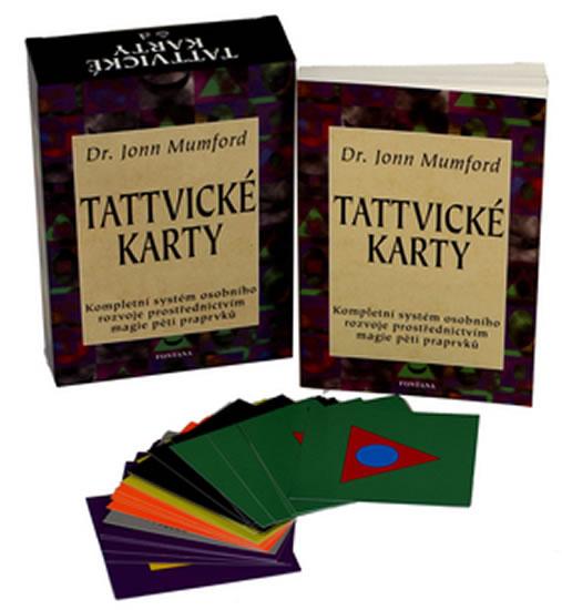 Tattvické karty - Kompletní systém osobního rozvoje prostřednictvím magie pěti praprvků - Mumford Jo