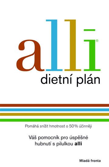 Alli - dietní plán - neuveden - 13,4x20,5