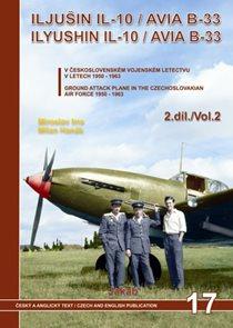Iljušin Il-10 / Avia B-33  v Čs. vojenském letectvu v letech 1950-1963 - 2.díl