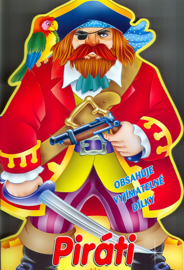 Piráti - pěnové leporelo - neuveden - 20,3x34,7