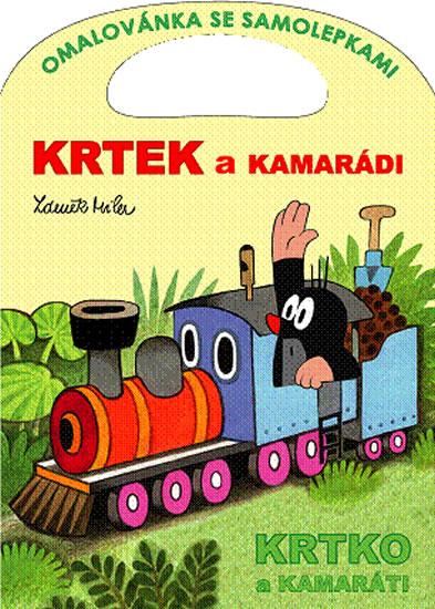 Krtek a kamarádi - Omalovánky A4 - Miler Zdeněk - 20,7x28,7