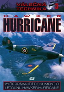 Hawker Hurricane - Válečná technika 3 - DVD