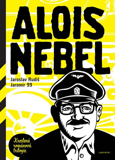 Alois Nebel -Kreslená román.trilogie-2.v - Rudiš Jaroslav, Jaromír 99, - 16,5x23