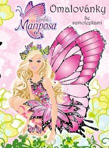 Barbie Mariposa - Omalovánky se samolepkami