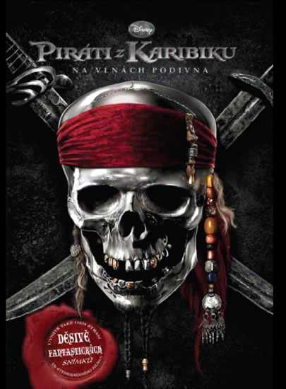 Piráti z Karibiku - Na vlnách podivna - Román k filmu - neuveden - 13,3x19,4