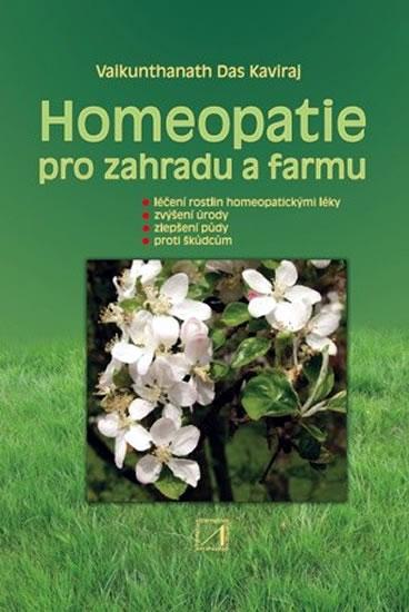 Homeopatie pro zahradu a farmu - Kaviraj Vaikunthanath Das - 17,7x24,7