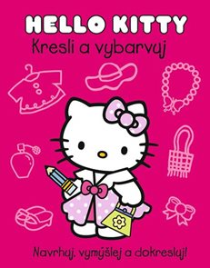Hello Kitty - Kresli a vybarvuj
