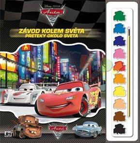 Cars 2 - Omalovánky s barvami