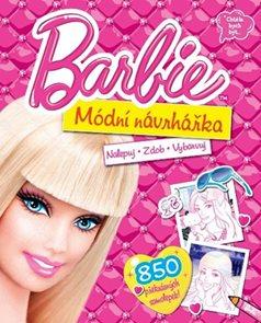 Barbie - Módní návrhářka - Nalepuj, zdob, vybarvuj