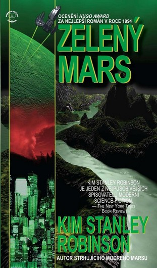 Zelený Mars - Robinson Stanley Kim - 10,6x18,5