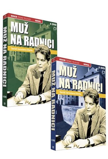Muž na radnici - 11 DVD - neuveden - 19x27,1