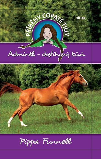 Admirál-dostihový kůň - Příběhy copaté Tilly 2 - Funnell Pippa - 13,4x20,6