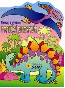 Pravěcí dinosauři - nalepuj a vybarvuj