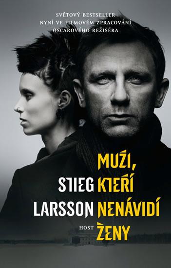 Muži, kteří nenávidí ženy - filmová obálka (Milénium 1) - Larsson Stieg - 12,6x19,5