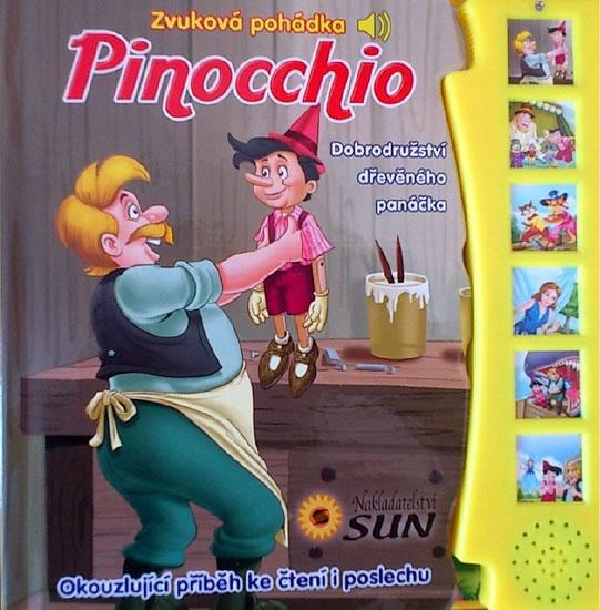 Pinocchio - Zvuková pohádka - neuveden - 19x19,7