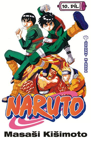 Naruto 10 - Úžasný nindža - Kišimoto Masaši - 11,4x17,5