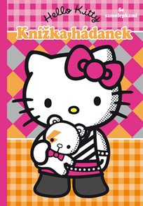 Hello Kitty - Knížka hádanek se samolepkami