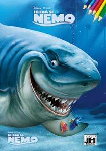 Hledá se Nemo Omalovánka A4