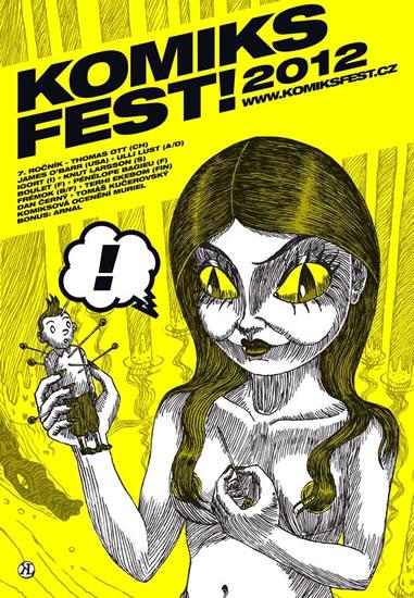 KomiksFEST! 2012 - kolektiv autorů - 20,1x28,5