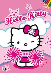 Hello Kitty - Omalovánky A4