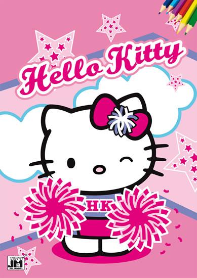 Hello Kitty - Omalovánky A4 - neuveden - 21,1x29,8