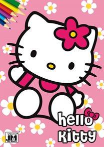 Hello Kitty 2 - Omalovánky A5