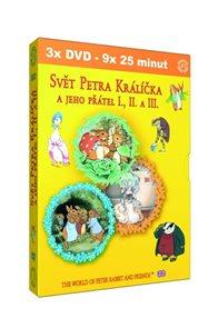 Svět Petra Králíčka a jeho přátel – 3 DVD (šubr)