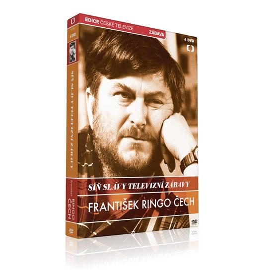 Síň slávy - František Ringo Čech - 4 DVD - neuveden - 13,6x19,2
