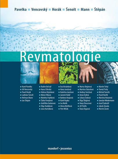 Revmatologie - Pavelka Karel a kolektiv