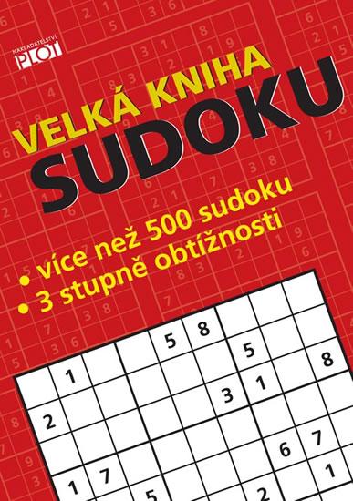 Velká kniha sudoku - Sýkora Petr - 14,5x20,5