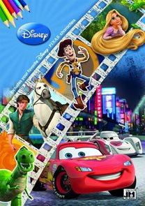 Disney filmy 2 - Omalovánky A4