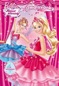 Barbie a Růžové balerínky - Omalovánky