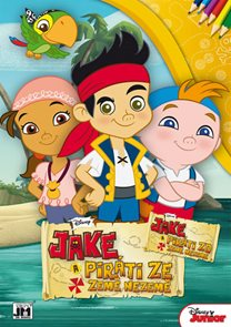 Jake a piráti - Omalovánka A4