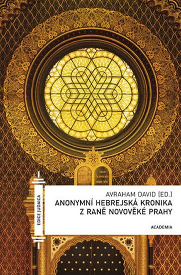 Anonymní hebrejská kronika z raně novověké Prahy - David Avraham - 13,7x20,6