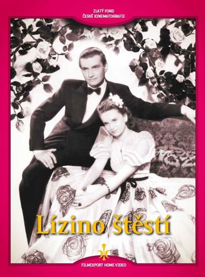 Lízino štěstí - DVD (digipack) - neuveden - 14x19