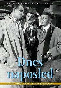 Dnes naposled - DVD (digipack)