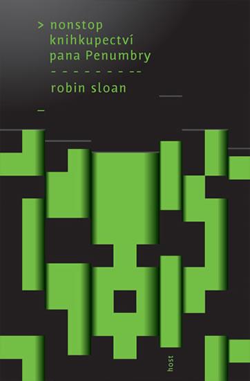 Nonstop knihkupectví pana Penumbry - Sloan Robin - 14x20,5
