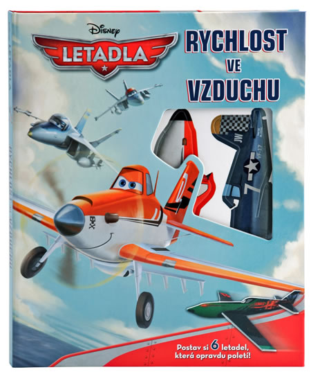 Letadla - Rychlost ve vzduchu - modely - Disney Walt - 21,7x26,8