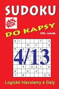 Sudoku do kapsy 4/2013 (červená)