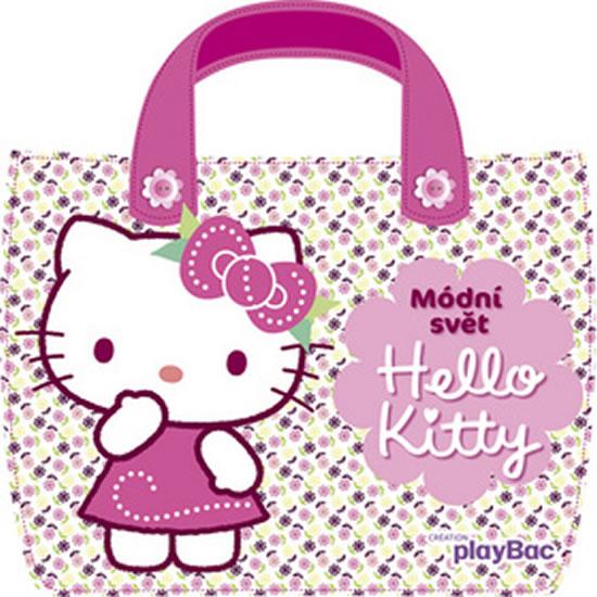 Hello Kitty - Módní svět - taštička - Sanrio - 21,5x22,2
